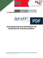 3.Formulacion de Proyectos Sociales Metodologia SNIP
