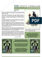 JULY 2005 South Carolina Audubon Newsletter