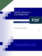 Clase5 Temperatura y Gases Ideales