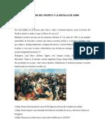 La Guerra Del Pacífico y La Batalla de Junín