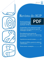 Revista Do IGP. Extração de DNA a Partir de Cadáveres Carbonizados...24
