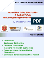 Ingenieria de Quemadores a Gas Natural