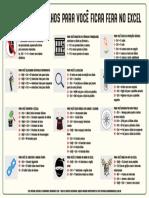 56 Atalhos Para Você Ficar Fera No Excel