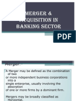 mergers & acquisition in banking sector