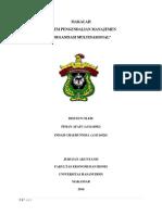 Sistem Pengendalian Manajemen (Organisasi Multinasional)