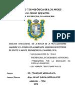 ANÁLISIS  SITUACIONAL  DE LA MOSCA DE LA FRUTA (Ceratitis capitata) Y EL COMPLEJO (Anastrepha spp) EN LOS SECTORES DE SOCCO Y AMOCA  PROVINCIA DE AYMARAES, 2016..docx