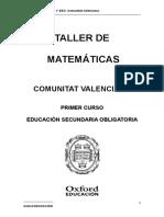 TALLER DE MATEMATICAS 1 ESO COM VALENCIANA.doc