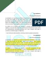 Identificación de Los Tipos de Texto