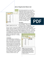 Excel Hand Out