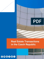 Real Estate Transactions in the Czech Republic