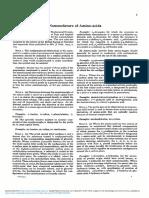Nomenclature of Aminoacids
