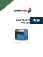 750-234 CB780E - 784E Manual