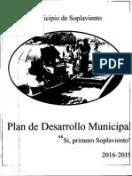 Plan de Soplaviento Sí Primero Soplaviento 2016 - 2019
