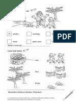 MCR Pip the Pirate Worksheet