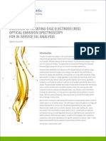 Overview of Rotating Disc Electrode (RDE) Optical Emission Spectroscopy for in-service Oil Analysis
