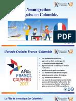 Exposé sur immigration en Colombie