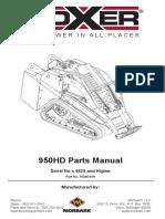 950 HD Parts Manual 1