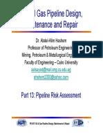 Part 13  Pipeline Risk Assessement.pdf