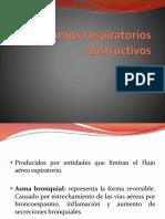 Trastornos respiratorios obstructivos