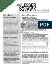 April-May 2006 Lesser Squawk Newsletter, Charleston Audubon