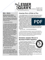 December-January 2006 Lesser Squawk Newsletter, Charleston Audubon