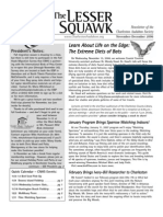 Nov-Dec 2006 Lesser Squawk Newsletter, Charleston Audubon