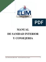 Manual de Sanidad Interior y Consejeria