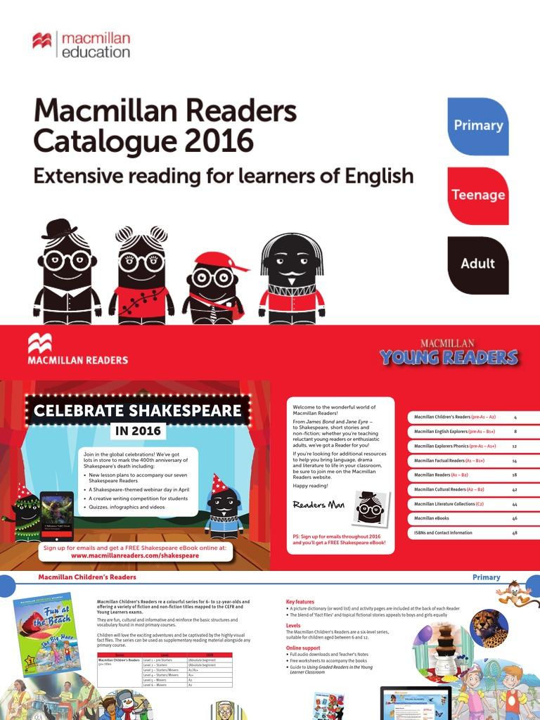 Macmillan readers catalogue 2016 webpdf phonics linguistics fandeluxe Images