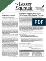 May 2008 Lesser Squawk Newsletter, Charleston Audubon