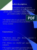 Estudios Descrptivos y Ex-post Facto