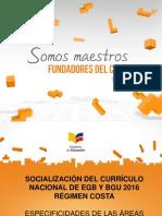 ESPECIFICIDADES DE LAS ÁREAS.ppt