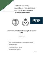 Aprovechamiento de La Exergia Fisica Del GNL