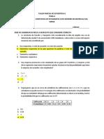 Solución Taller Parcial de Estadística II