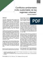 5. F. Sabatini - Conflictos Ambientales y Desarrollo Sustentable de Las Regiones Urbanas (1)