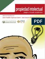 Manual de Propiedad Intelectual, Plagio y Fraude Académico...