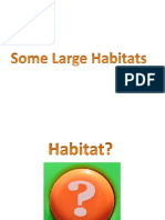 Large Habitats