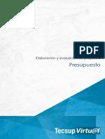 ELABORACIÓN Y EVALUACIÓN DE PROYECTOS-PARTE 5