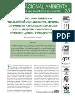 Los Territorios Indigenas Traslapados Con SPNN en La Amazonia