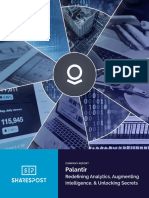 SharesPost Palantir Company Report