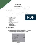 Informe Final 2 Circuitos Electricos 2