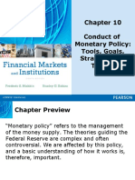 Conduct of Monetary Policy