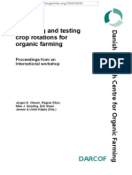 Designing and Testing Crop Rotations for Organic Farming