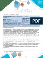 Syllabus del curso de administración de farmacia