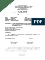 Travel Order _ Eugene