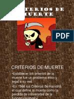 Criterios de Muerte