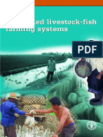 Integrated Livestock - Fish Farming Systems