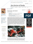 Amia Srinivasan Reviews 'Other Minds' by Peter Godfrey-Smith and 'the Soul of an Octopus' by Sy Montgomery