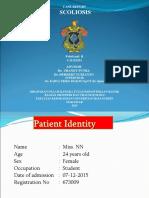 Case Report Scoliosis
