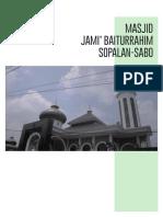 140115361_Edwin Kurniawan_Masjid Jami' Baiturrahim