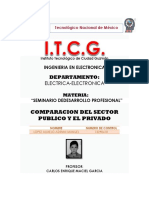 Diferencia de empresa publica y privada